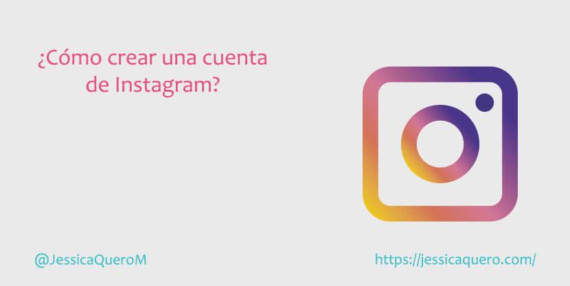 Portada Crear Cuenta de Instagram