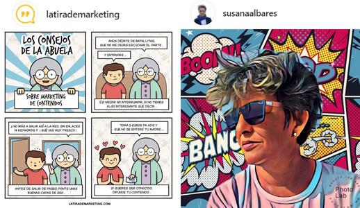 Comic - Ideas Instagram