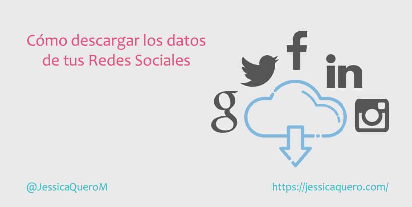 Portada Descarga Datos Redes Sociales