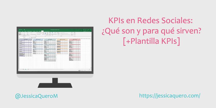 Portada KPI Redes Sociales