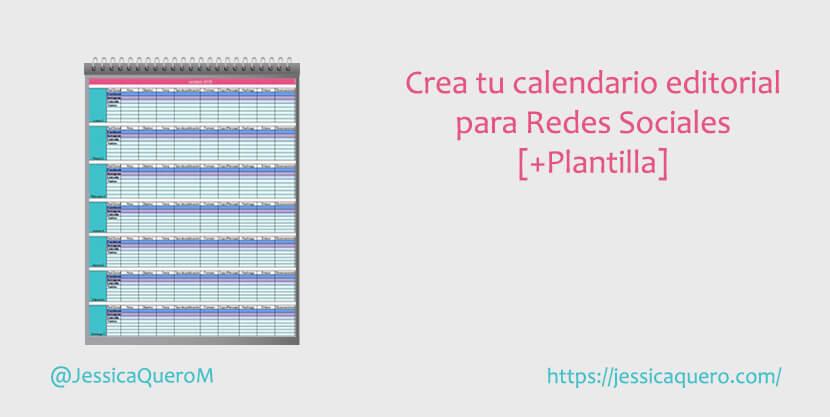 Portada Calendario Editorial de Redes Sociales