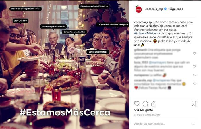 Calendario CM - Nochevieja - CocaCola
