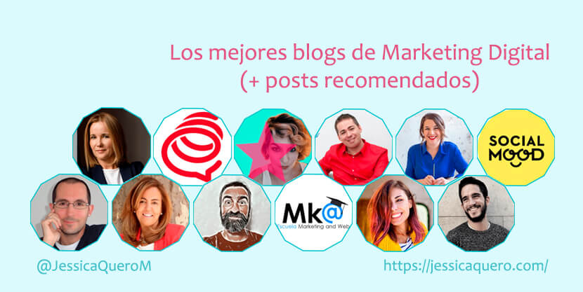 Portada Blogs de Marketing Digital