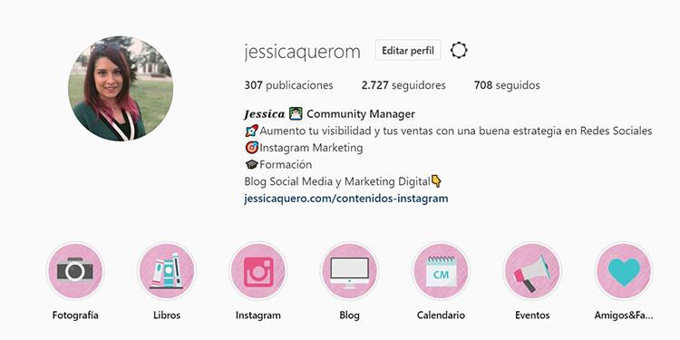 Auditoria de Instagram - Historias