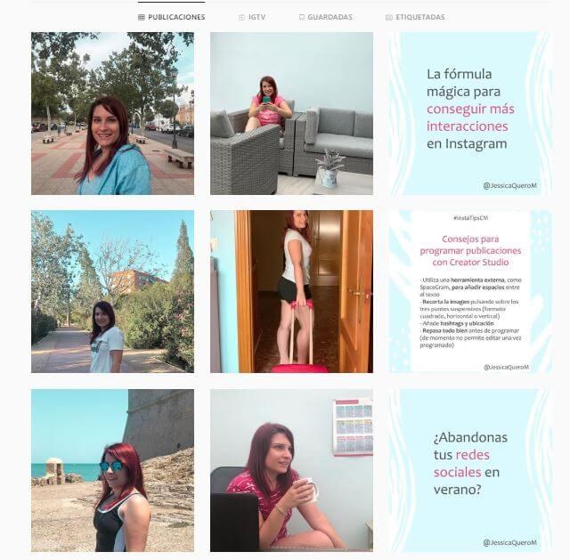 Auditoria de Instagram - Publicaciones