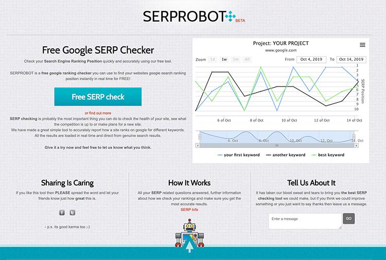 SERPROBOT-rank-tracker