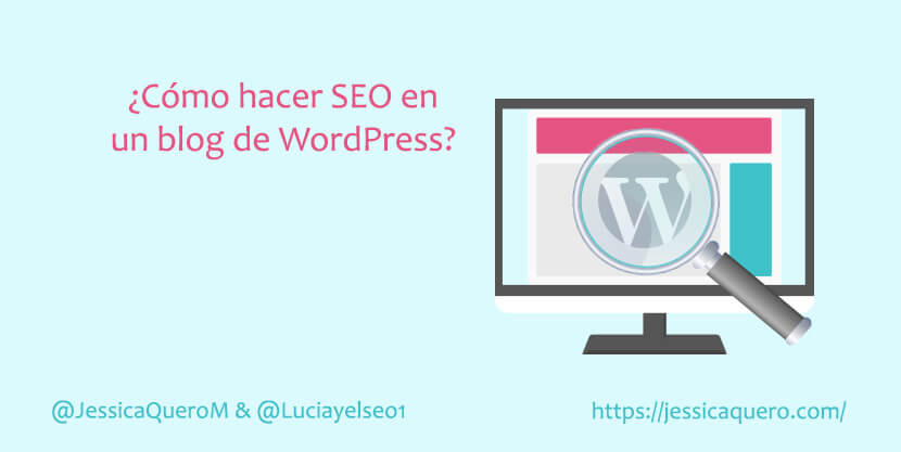 Portada SEO blog de WordPress