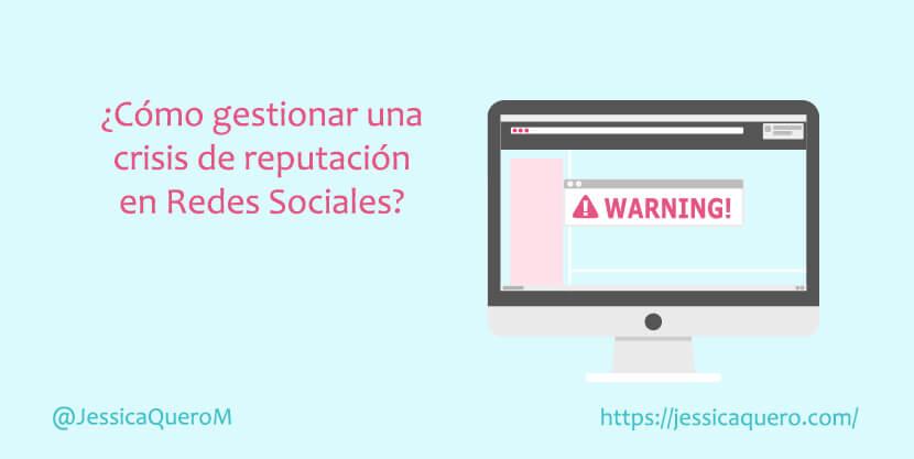 Portada Crisis en redes sociales